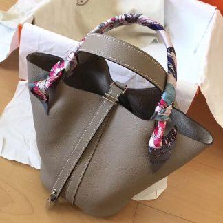 7beb40db0c You re viewing  Paris Hermes Tourterelle Picotin Lock PM 18cm Handmade Bag  Pittsburgh